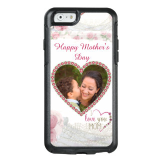 Happy Mother's Day Heart Personalized OtterBox iPhone 6/6s Case