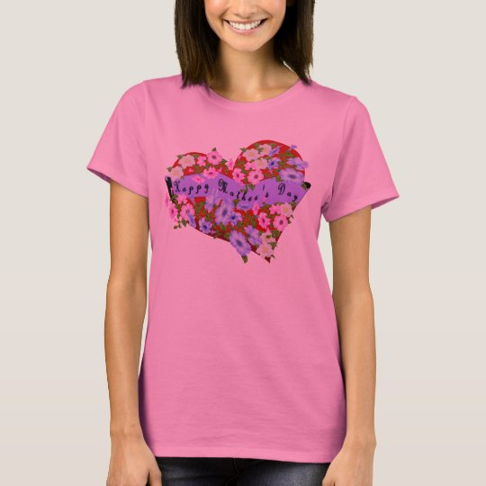 Happy Mother's Day Heart T-Shirt