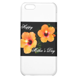 Happy Mother's Day Hibiscus Orange The MUSEUM Zazz iPhone 5C Case