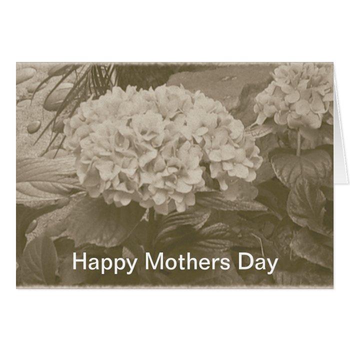 Happy Mothers Day Hydrangeas Card