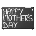Happy Mother's Day. In Black and White. iPad Mini Covers
