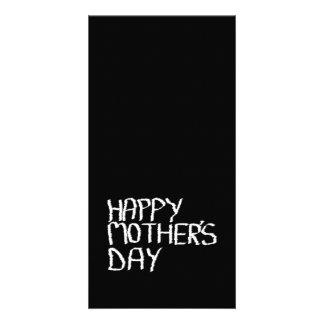 Happy Mother's Day. In Black and White. Photo Card