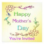 Happy Mother's Day Invitation