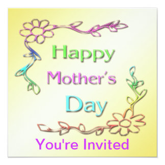 Happy Mother's Day Invitation