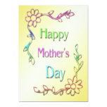 "Happy Mother's Day Invitation 5"" X 7"" Invitation Card"