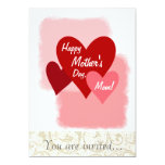 "Happy Mother's Day Invites 5"" X 7"" Invitation Card"