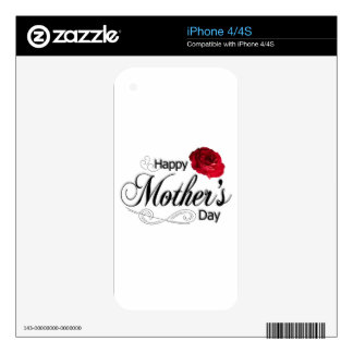 Happy Mother's Day iPhone 4 Decals