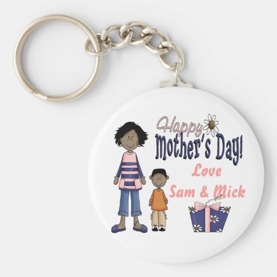 Happy Mothers Day - Kids & Present Keychain