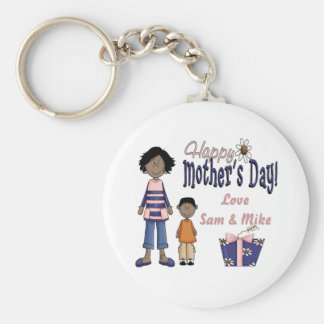 Happy Mother's Day - Kids & Present Keychain