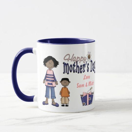 Happy Mother's Day - Kids & Present Mug
