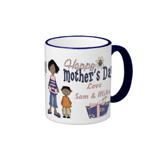 Happy Mothers Day - Kids Present Mugs