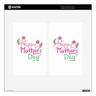Happy Mothers Day Kindle Fire Decal