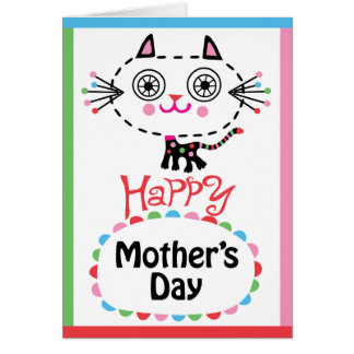 Happy Mother's Day - kitty Card