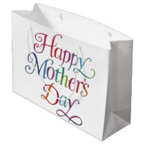 Happy Mother's Day Large Gift Bag