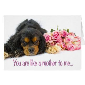 Happy Mother's Day Like A Mom Card With Dog