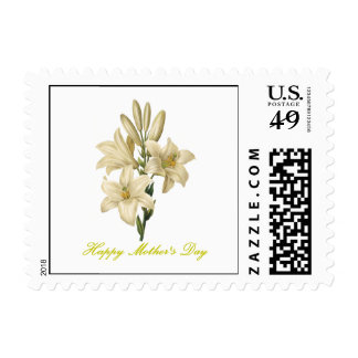 Happy Mother's Day (lily) Postage