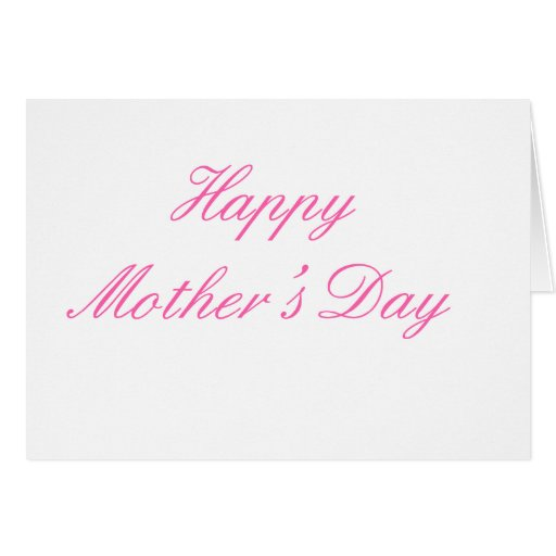 Happy Mother's Day Magenta The MUSEUM Zazzle Gifts Greeting Cards