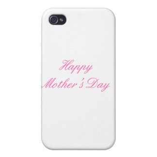 Happy Mother's Day Magenta The MUSEUM Zazzle Gifts iPhone 4 Covers