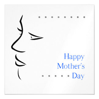 Happy mothers day magnetic card