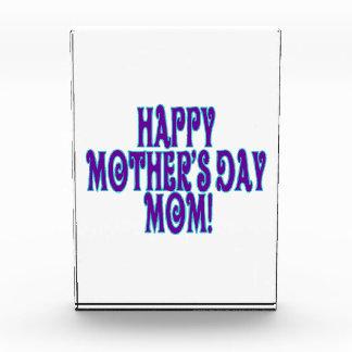 Happy Mothers Day Mom Acrylic Award