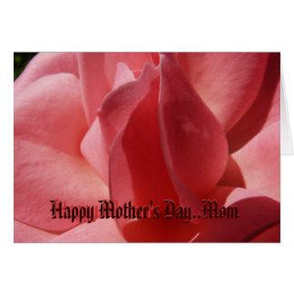 Happy Mother's Day, Mom - Customized Card