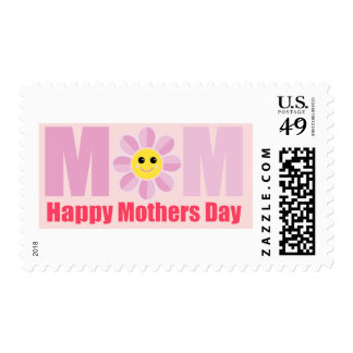 Happy Mothers Day Mom Stamp