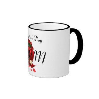 Happy Mother's Day Mom Ringer Mug