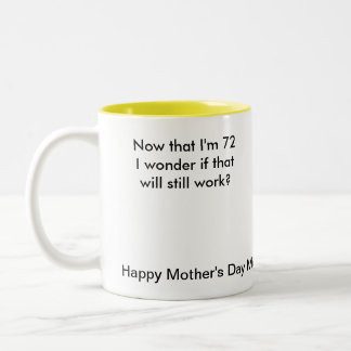 Happy Mother's Day Mom Two-Tone Coffee Mug