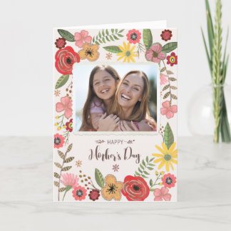 Happy Mother's day | Mother´s day Card