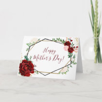 Happy Mother's Day | Mother's Day Card | Floral