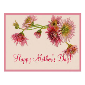 HAPPY MOTHER'S DAY MUMS by SHARON SHARPE Postcard