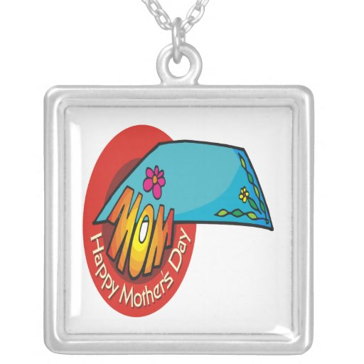 Happy Mothers Day Necklace