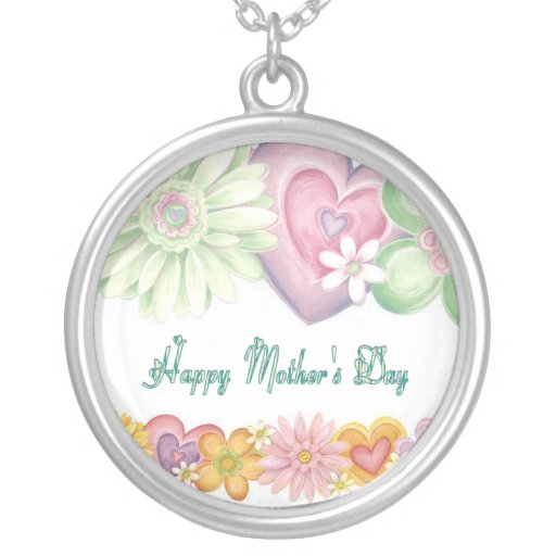Happy Mothers Day Custom Necklace