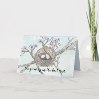 Happy Mother's Day -  Nest Card