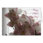 Happy Mother's Day Pale Pink Orchid Card