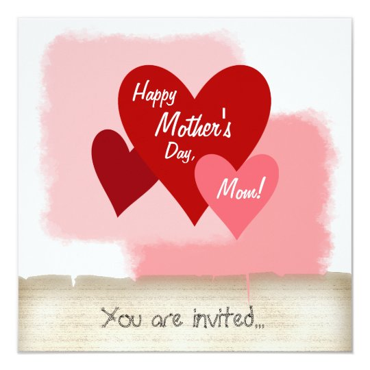 Happy Mother's Day Party Invitation