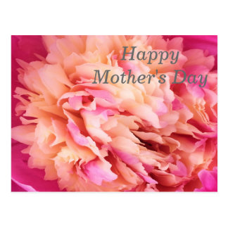 Happy Mother's Day Peony Postcard