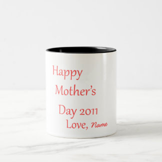 Happy Mother's Day Personalized Mug!