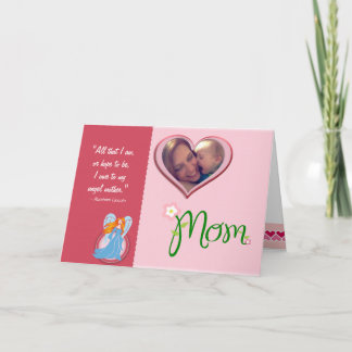Happy Mothers Day Personalized Photo Card