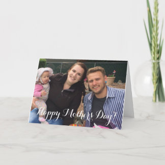 Happy Mother's Day Photo Card