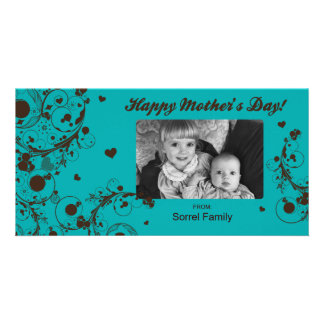 Happy Mother's Day Photo Greeting Card Template