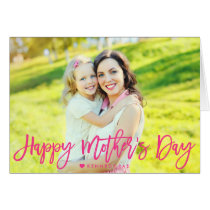 Happy Mother's Day Photo Overlay Card
