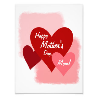 Happy Mother's Day Photo Paper Print