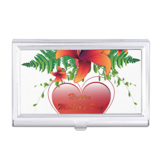 Happy mother's day business card holder
