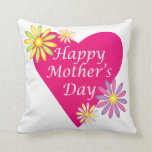 Happy Mothers Day Pillow