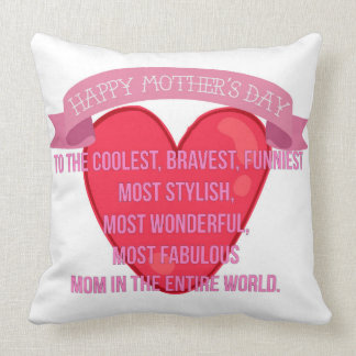Happy Mother's Day Pillow