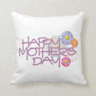 Happy Mother's Day Pillow, Mothers Day May 12th Throw Pillow
