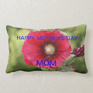HAPPY MOTHER'S DAY PILLOW with Flower's