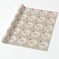 Happy Mother's Day - Pink Vintage Wrapping Paper