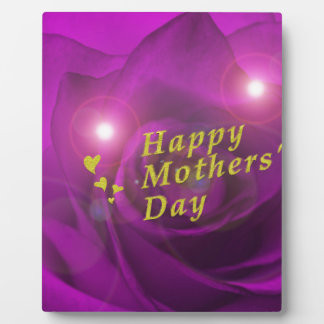 happy mothers day plaque